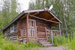 Robert Service`s cabin in Dawson City