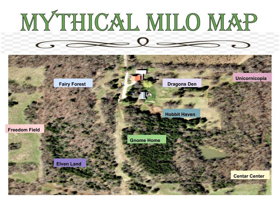 milo farm mythical trail map